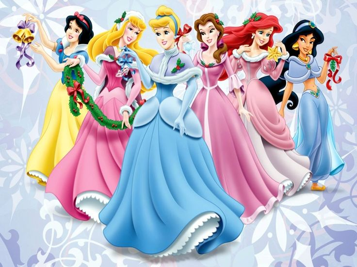 HD Wallpaper And Background Photos Of Disney Priness Christmas For Fans Princess Images