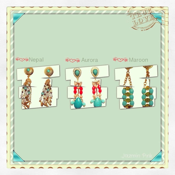 #earrings #mode #fashion #accesories #accessories #jewelry #look #fashionaccessories #luxjewelry #shine #turquoise #gold #style