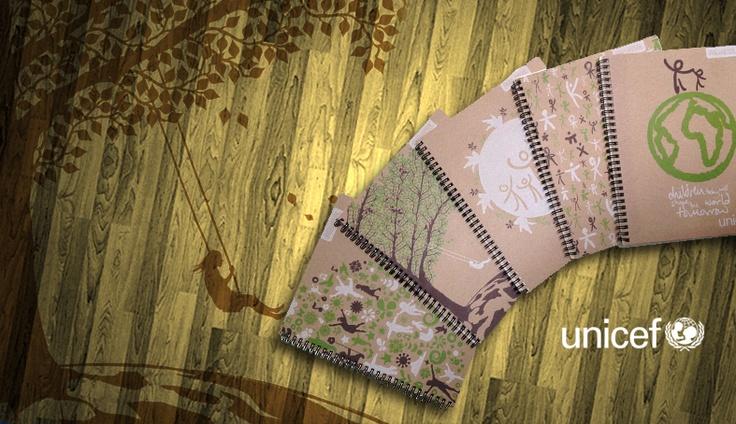 Línea Ecológica Proarte Unicef. Recicla y ayuda al medio ambiente.