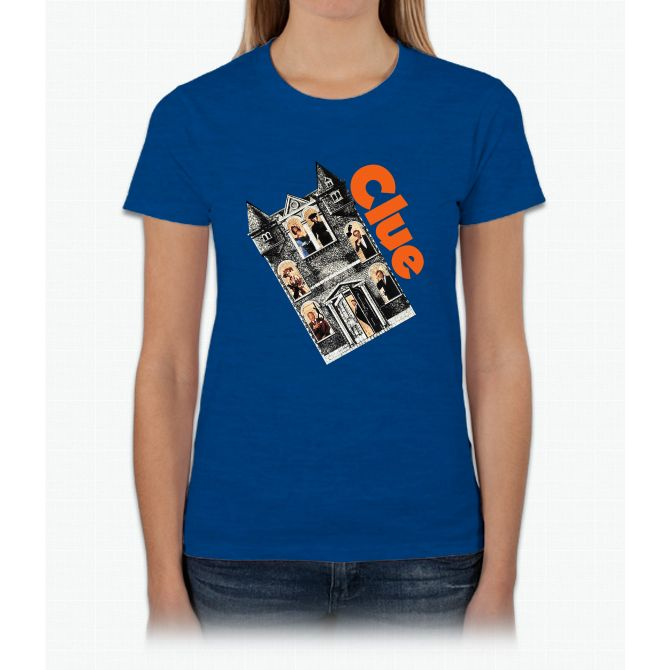 Clue Movie Game Funny Bee Movie Womens T-Shirt