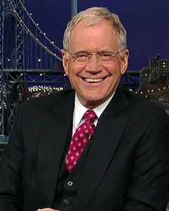 The Late Show with David Letterman. Love Dave!