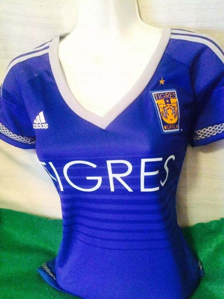 jersey de tigres 2016 azul para dama original
