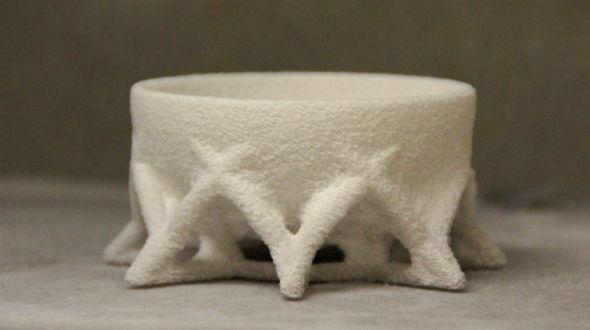 A 3d printed sugar bowl printed in sugar!