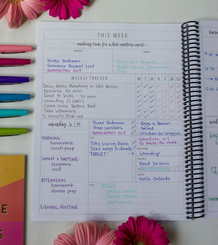 "This planner is said to ""help you make time for what matters most"" - and it really does! Truly, it's the most comprehensive planner out there - with spaces to write down everything you've got going on in your head. The Organized Life Planner is a MUST-HAVE for moms! via @intentionalmoms"