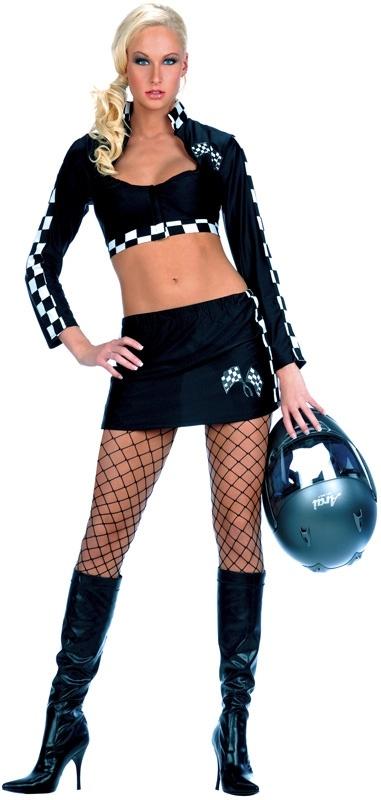 Girl racer fancy dress uk cheap