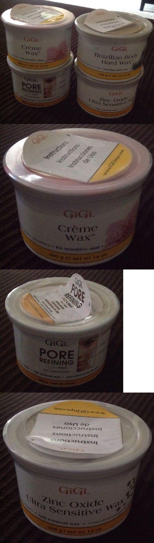 Waxing Supplies: Gigi Wax Bundle - Brazilian, Crime, Pore, Zinc Oxide BUY IT NOW ONLY: $55.0