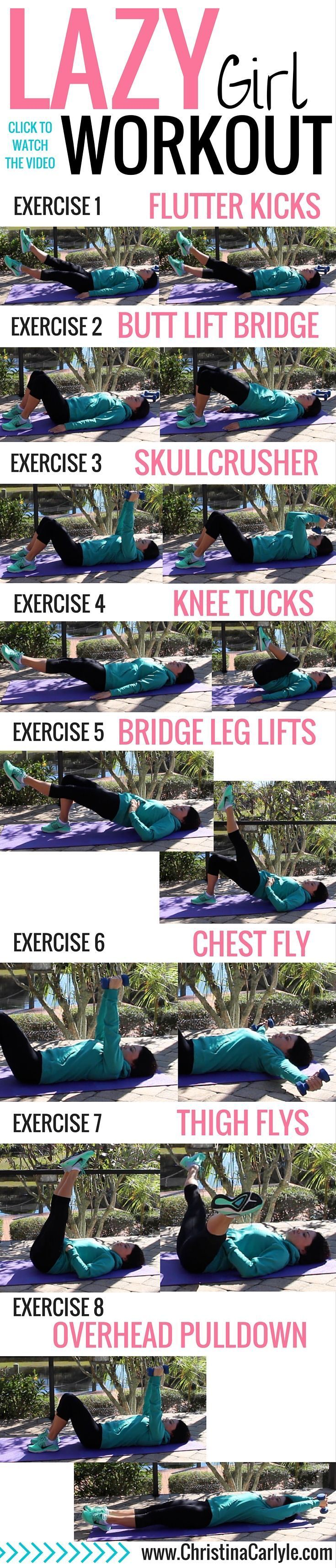 awesome Lazy Girl Workout - Christina Carlyle