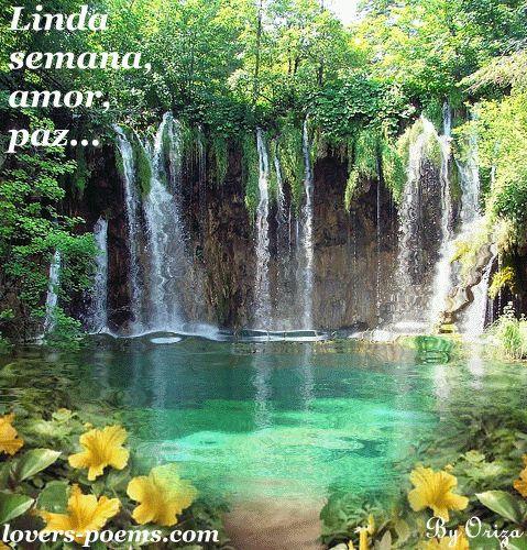 SPA - Saúde Pela Água: Uma BOA Semana para todos os meus queridos e lindos amiguinhos :) SPA saúde paz e amor