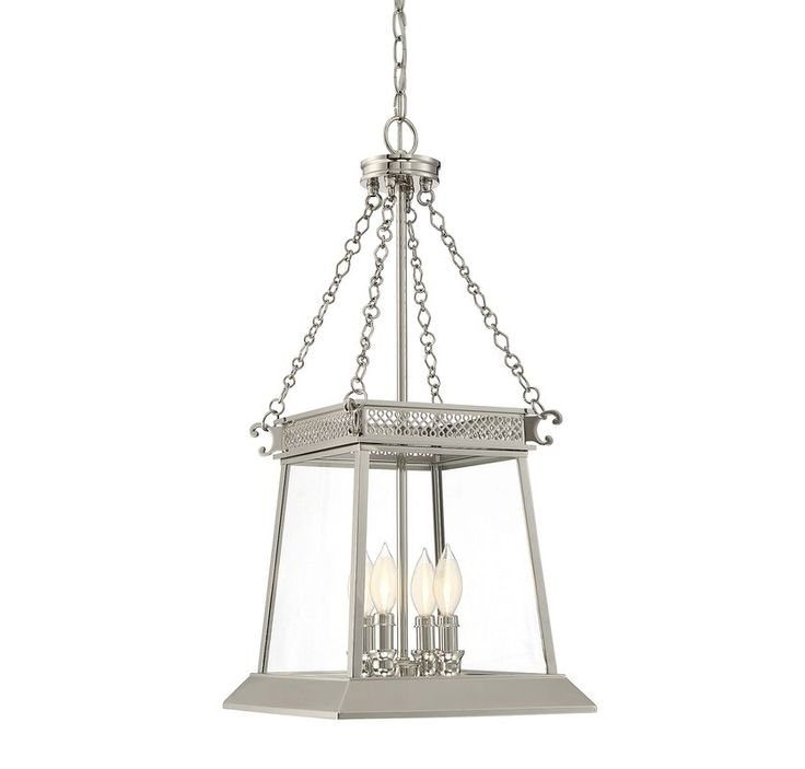 Colson 4 Light Chain Foyer Pendant