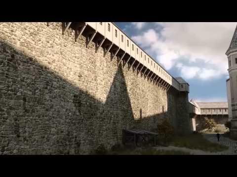 1490 A budai vár Mátyás király korában [Előzetes] Nemzeti Táncszínházban 3D-ben megtekinthető. - YouTube