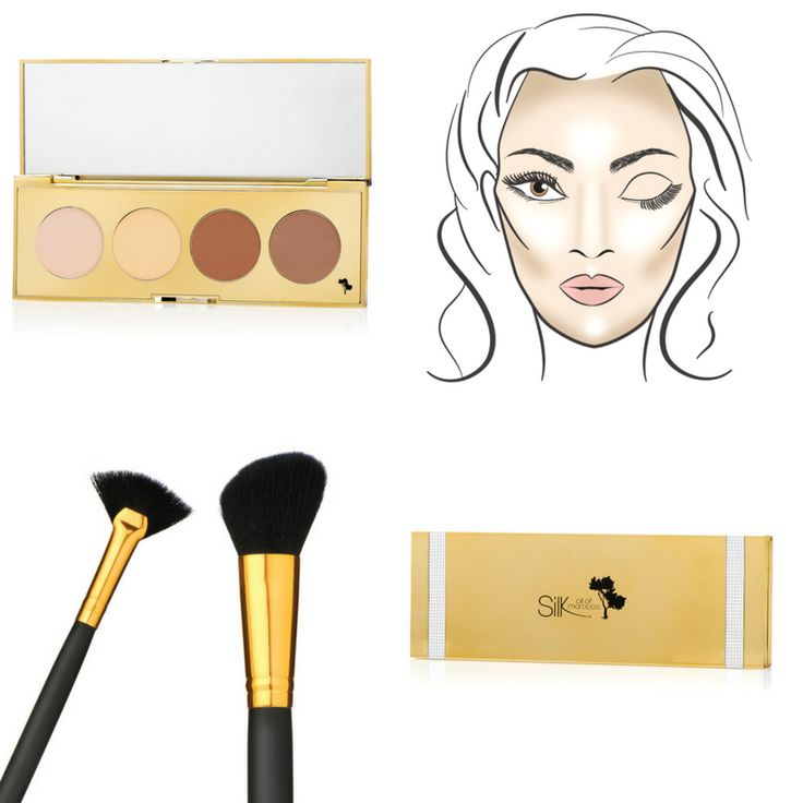 Do you Contour? Our Vegan Contour & Highlight Palette effortlessly shapes, sculpts and slenderizes the face to enhance facial features. This step can also help control oil and shine whilst prolonging make-up wear! Visit: www.esilkcosmetics.com