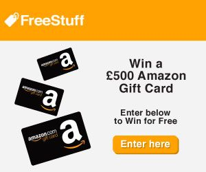FreeStuff – Win £500 Amazon Gift Card (UK Only)  Join FreeStuff today, the UK's number 1 competition and freebie site, and enter Win a £500 Amazon Gift Card. (UK only)  #freestuffuk #freestuff #freeamazoncards #amazongiftcard #giftcard