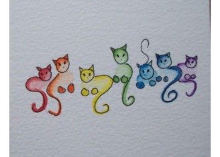Einfache Gezeichnete Katzen Katze Zeichnen Katzen Einfach Ze