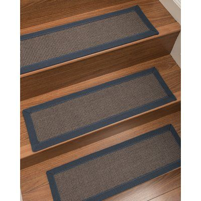 Best Charlton Home Brokaw Sisal Stair Tread Stair Treads 640 x 480