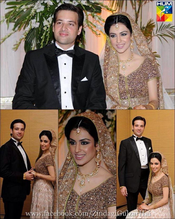 Cute Pakistani Bride And Groom .. Pakistani Actress