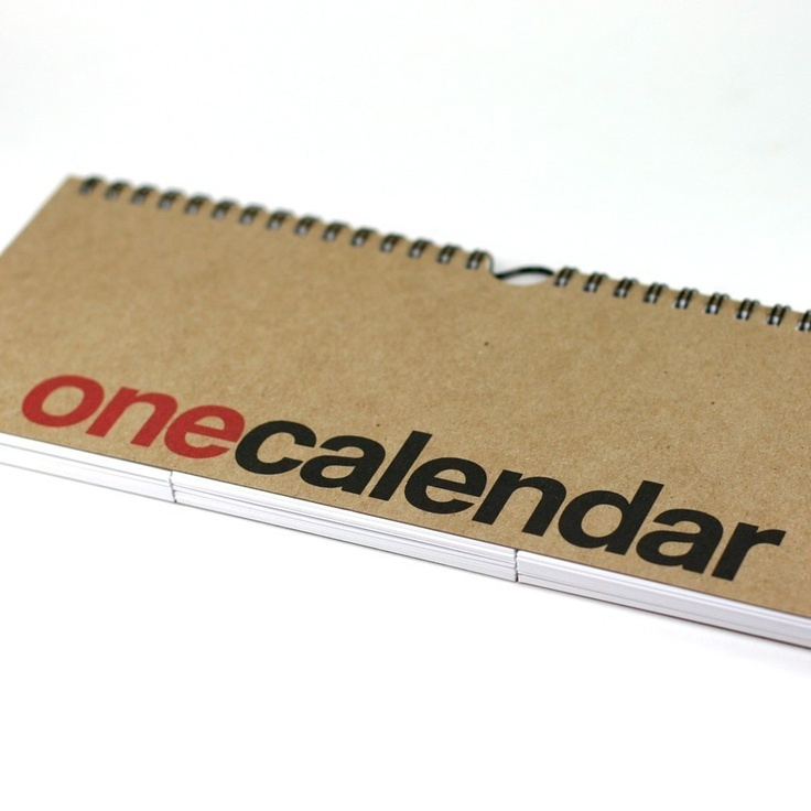 one calendar black and red by REDSTARink on Etsy, via Etsy.