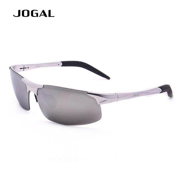 JOGAL Hot TAC Light Sunglasses Adjustable Aluminum Magnesium HD Polarized Eyewear Sun Glass Male Fashion UV400 Sunglasses AEW278 #Affiliate