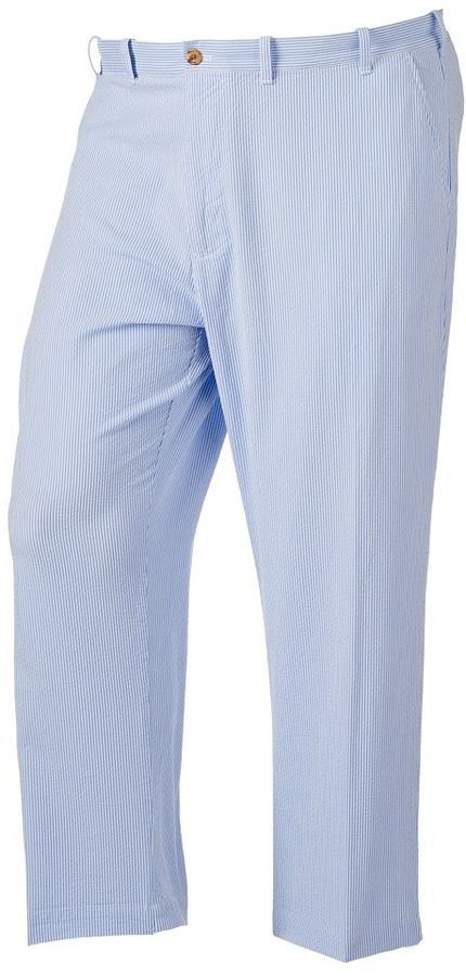 Big & Tall IZOD Sandy Bay Classic-Fit Striped Seersucker Pants