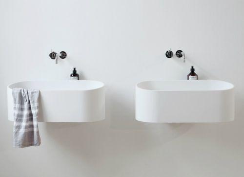 wall hung sink