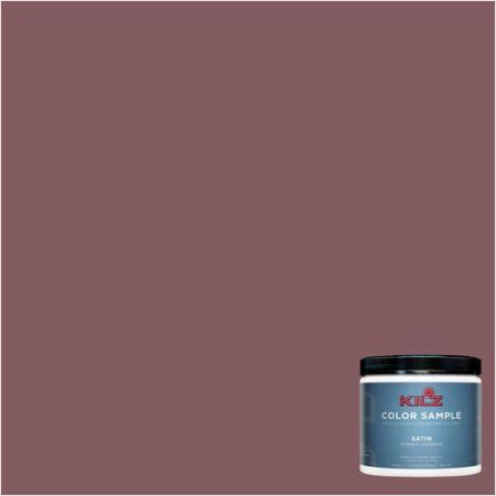 Kilz Complete Coat Interior/Exterior Paint & Primer in One, #LA150-02 Australian Shiraz