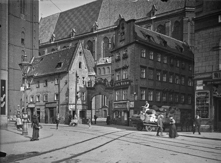 Wrocław - Kamieniczki Jaś i Małgosia (1910-1920)