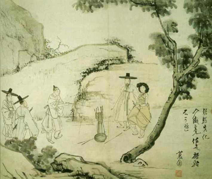 혜원(惠園) 신윤복(申潤福).