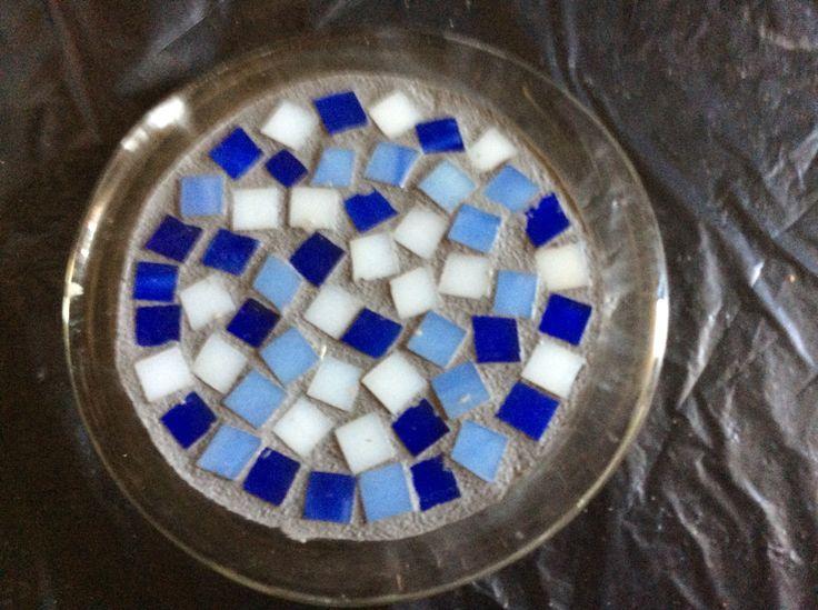 Six inch mosaic plate