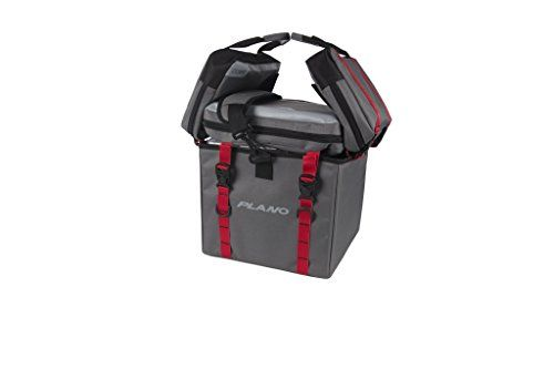 Plano PLAB88140 Weekend Series Kayak Crate Soft Bags, Grey  https://fishingrodsreelsandgear.com/product/plano-plab88140-weekend-series-kayak-crate-soft-bags-grey/  The ultimate kayak soft tackle bag. Fits securely in milk crate or rests freestanding as crate alternative Four-panel design carries as much or as little as you need. Easily Remove panels and utilize attachment points for customizable storage Large open interior with two sections of bulk storage. Side storage panel