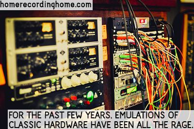 For the past few years, emulations of classic hardware have been all the rage  http://homerecordinghome.com/do-you-need-outboard-gear/