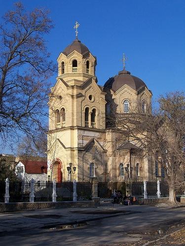 Храм святого пророка Ильи. Евпатория. Крым. Украина.
