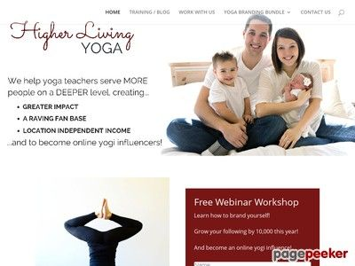cool YOGA BRANDING BUNDLE - Higher Living Yoga