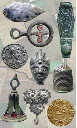 UKFD - metal detecting finds database.