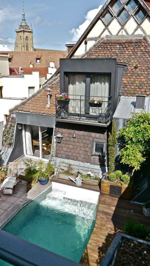 Die perfekte Dachterrasse! if i were to live somewhere in eu