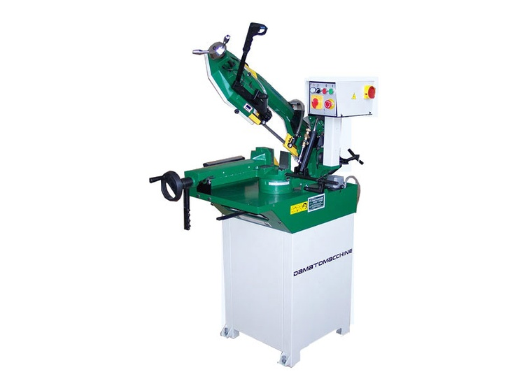 GEO 4023 It 's the greatest and most powerful of band saws for metal DM ITALIAN affiabile and more accurate than the others.  Just as the band saw Geo 4017 is available in single and three phase. Single-phase version has a single speed while the three-phase version has two different speeds.