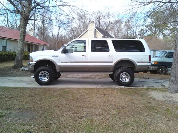 "6"" f250 lift on an excursion? is it a bone jarring ride? - PowerStrokeNation : Ford Powerstroke Diesel Forum"