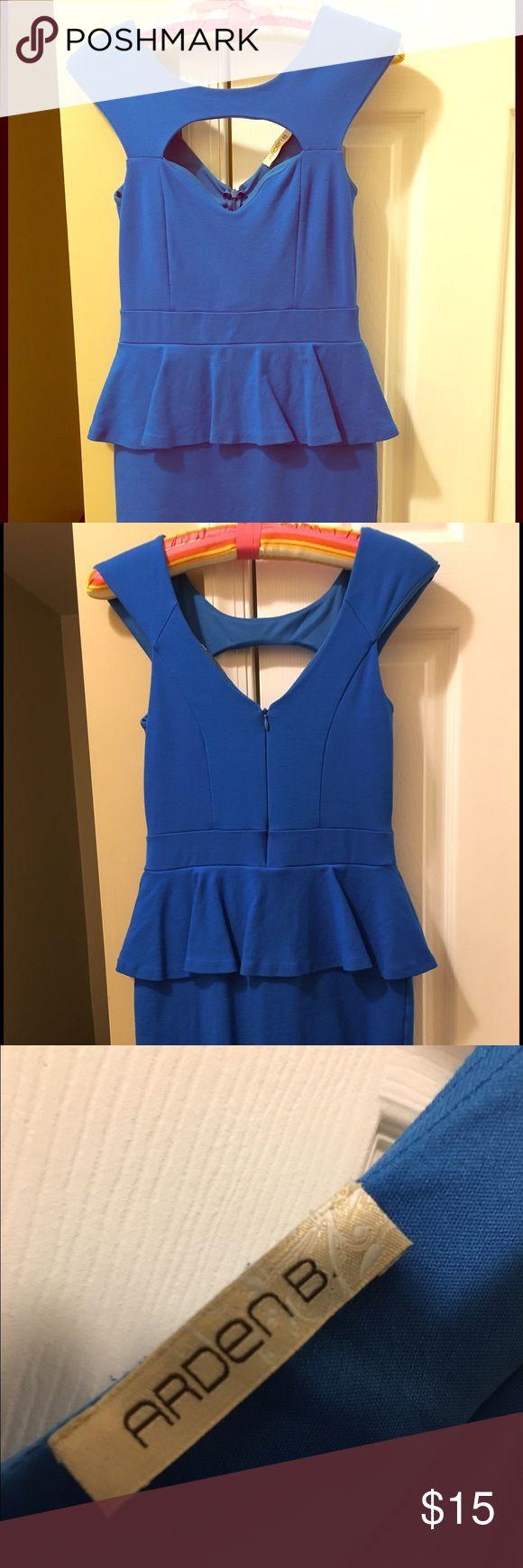 Arden B electric blue dress. Gently worn Arden B electric blue dress size 8 gently worn Arden B Dresses Midi
