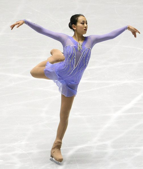 Mao Asada -Purple/Lilac Figure Skating / Ice Skating dress inspiration for Sk8 Gr8 Designs.