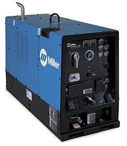 Big Blue® Air Pak™ Complete package - a multiprocess welder/generator/air compressor/optional battery charger