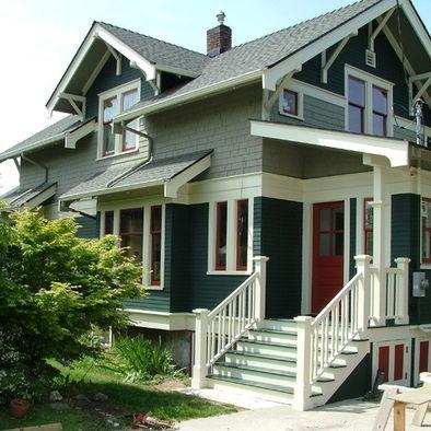 Exterior paint ideas for craftsman home 1913 design - Valspar exterior paint color ideas ...