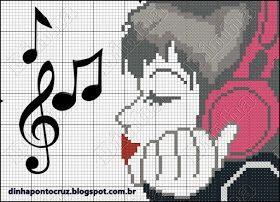 Dinha Ponto Cruz: Música ponto cruz