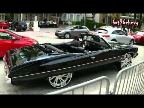72 Impala Donk Vert On 26 Quot Brushed Asantis Mean Motor