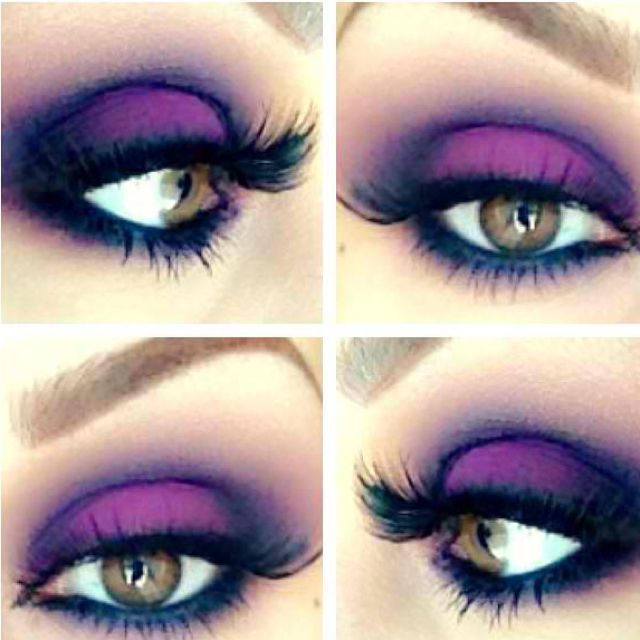 45 best images about makeup ideas on Pinterest | Purple eyeshadow ...