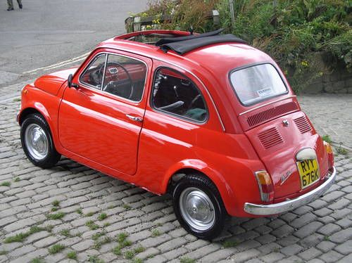 cute as a bug!  Fiat 500 F (1972)