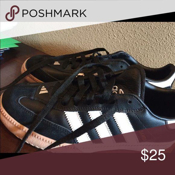 Adidas samba shoes Worn once! Like new. Adidas Shoes Athletic Shoes