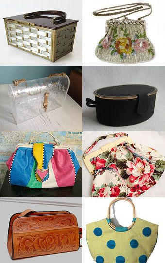The Epsteam Woman's Vintage Purse by Florence on Etsy--Pinned with TreasuryPin.com