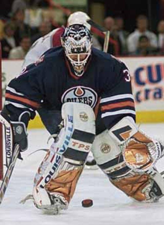 Edmonton Oilers - Curtis Joseph (1995-98)