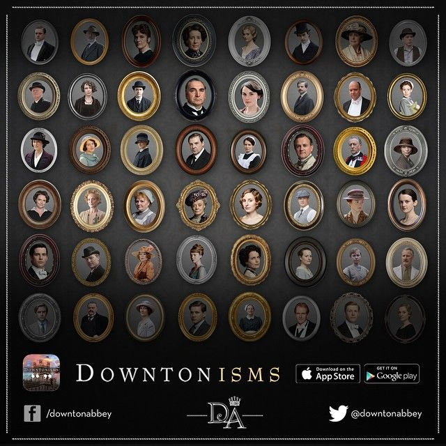 You'll find all your favourite #Downtonisms in the official #DowntonAbbey app! Bit.ly/Downtonisms