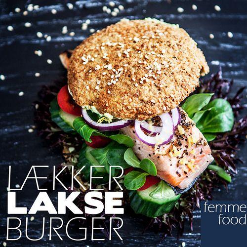 Salmon burger, salmon, burger, vegan, glutenfree, milkfree