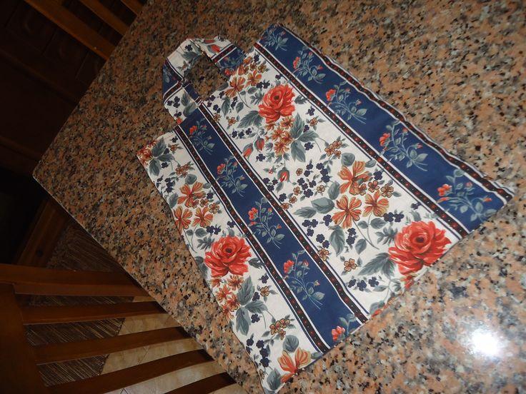Saco de tecido (patchwork bag)