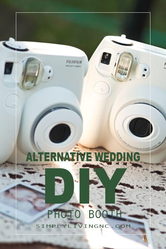 Diy Your Own Wedding Photo Booth With This Super Cute Alternative Idea Photobooth Alternativewedding Weddingideas Simpleliving Howto